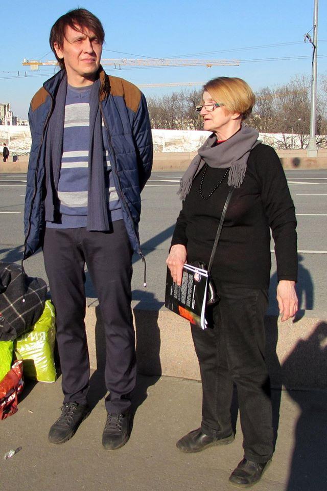 Михаил Боровинский и Людмила Кузнецова.