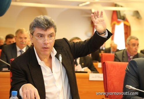 Борис Немцов в первый день работы Ярославской областной Думы внес два законопроекта РПР-ПАРНАС
