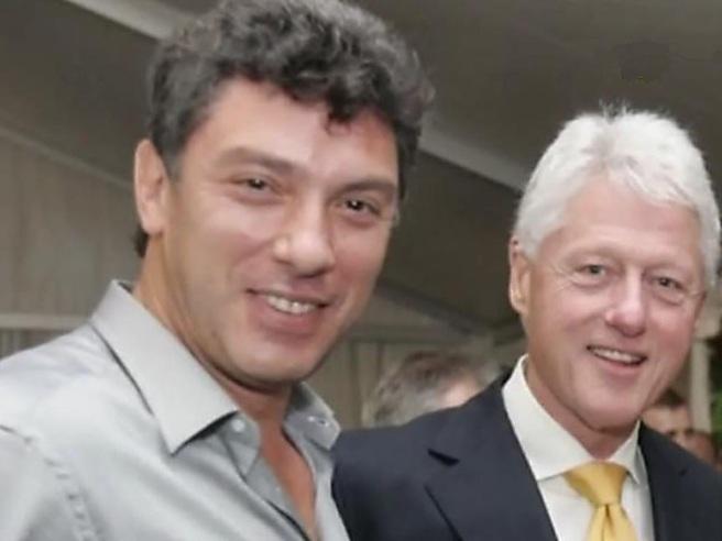 Два красавца, два плейбоя... Борис Немцов и Билл Клинтон