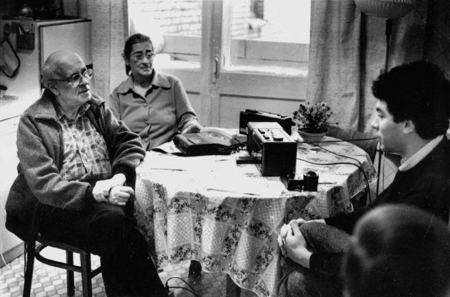 Андрей Дмитриевич Сахаров даёт интервью Борису Немцову для газеты «Ленинская смена». Горький, 1988 год.