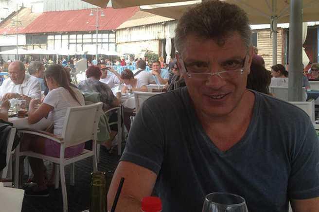 Борис Немцов в Тель-Авиве, 19 апреля 2014 года Фото: Ольга Шорина