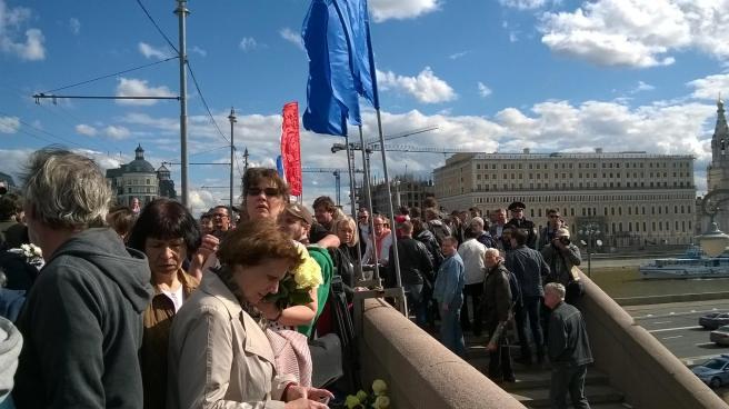 На Большом Москворецком мосту