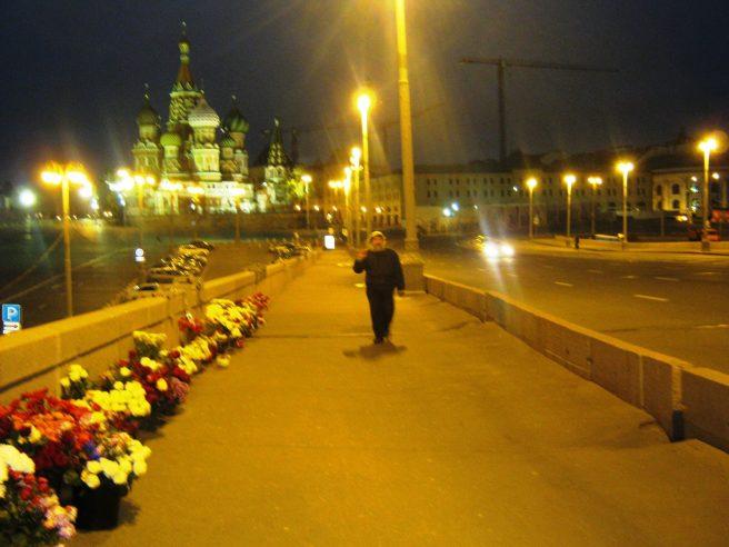 11.10.2016. Немцов Мост. Гриша идёт...
