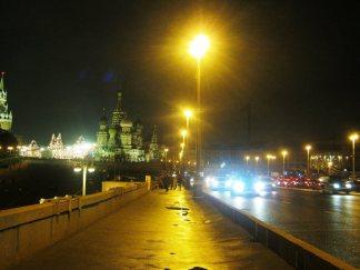 27.10.2016. Немцов мост. Впереди Мемориал