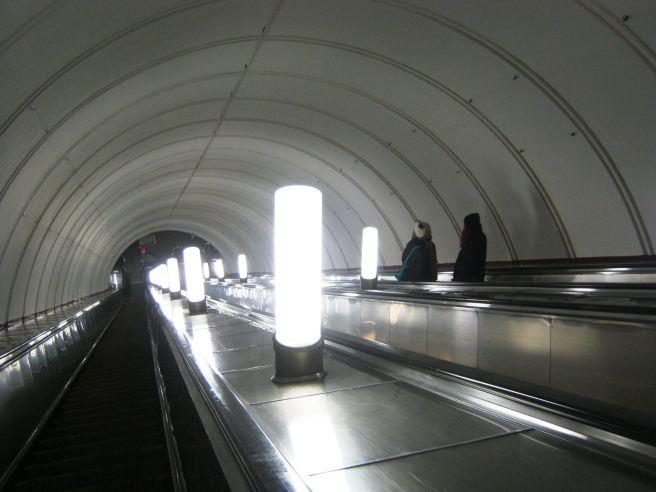 14.11.2016. Домой. После посещения Немцова моста