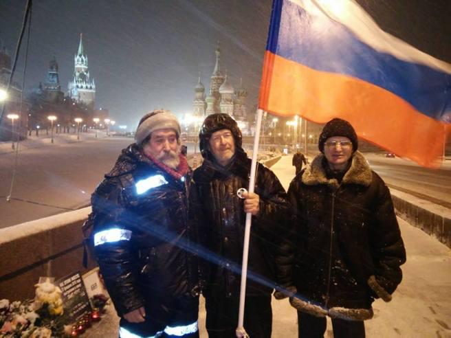 Утренний, он же дневной, выздоровевший Григорий Саксонов (слева направо: Гриша, Михаил Михайлович, Слава)
