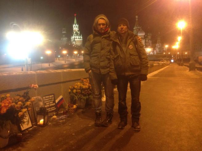Ночные дежурные Илья Повышев и Pavel Takmakov