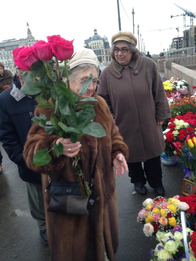 Цветы от старшего поколения